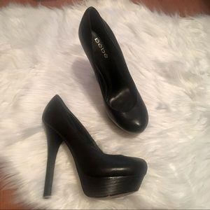 Bebe platform heels size 7